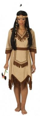 Apachen Indianerin - Kleid - Kostüm - 1 Teil - Rubie's