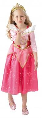 Disney - Dornröschen - ffunkelndes Kleid + Diadem - Kinder Kostüm - 2 Teile - Rubie's