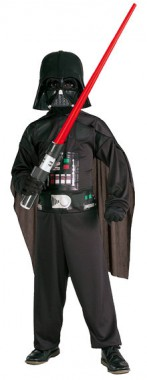 Star Wars - Darth Vader - Kids-Overall+Maske+Cape - Kinder Kostüm - 3 Teile - Rubie's