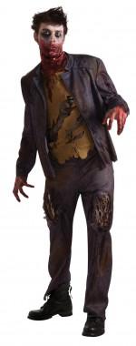 Zombie Shawn - Jacke+Shirt+Hose - schwarz, rot - Kostüm - 3 Teile - Rubie's