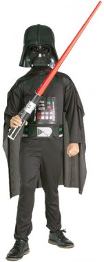Star Wars - Darth Vader - Deluxe Kinderset - Kinder Kostüm - 4 Teile - Rubie's