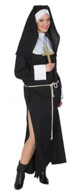 Nonne - Kleid+Kopfbedeckung - Kostüm - 1 Teil - Rubie's