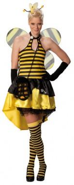Sexy Biene - Kleid - Kostüm - 1 Teil - Rubie's