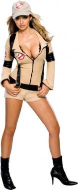 Ghostbusters - Sexy Geisterjägerin - Overall+Mütze - Kostüm - 4 Teile - Rubie's
