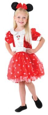 Minnie Maus Red Puff Ball - Kleid+Ohren - Kinder Kostüm - 2 Teile - Rubie's