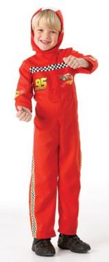 Disney Cars - Mc Queen - Overall - Kinder Kostüm - 2 Teile - Rubie's