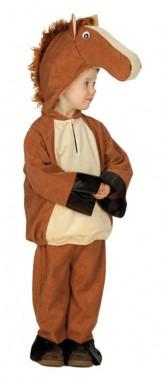Pony - Oberteil+Hose -  Kinder Kostüm - 2 Teile - Rubie's