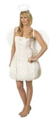 Sexy Engel - Kleid - Kostüm - 1 Teil - Rubie's
