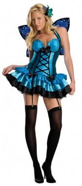 Fantasy Fee - Kleid+Flügel+Haarbrosche - Kostüm - 3 Teile - Rubie's