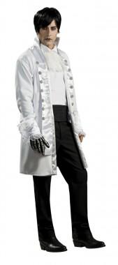 Lord Goth - Jacke+Hemdattrappe - weiß - Kostüm - 2 Teile - Rubie's