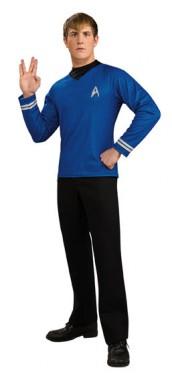 Star Trek - Shirt - Deluxe Shirt+Emblem - Kostüm - 1 Teil - Rubie's