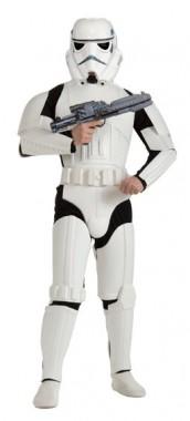 Star Wars - Sturmkrieger - Deluxe Overall+Helm - Kostüm - 2 Teile - Rubie's