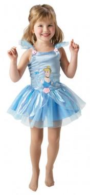 Disney Aschenputtel Ballerina - Kleid - Kinder Kostüm - 1 Teil - Rubie's