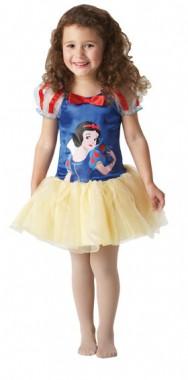 Disney Schneewittchen Ballerina - Kleid - Kinder Kostüm - 1 Teil - Rubie's