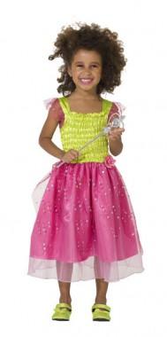 Blumenfee - Kleid - Kinder Kostüm - 1 Teil - Rubie's