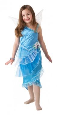Disney Silberhauch - Kleid - Kinder Kostüm - 3 Teile - Rubie's