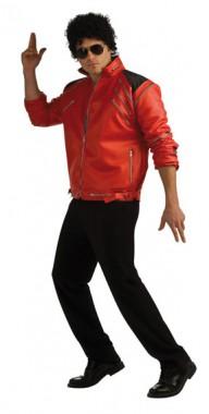 Michael Jackson - Beat it Jacke Rot - Deluxe - Kostüm - 1 Teil - Rubie's