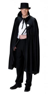 Elegantes Cape -  Kostüm - 1 Teil - Rubie's