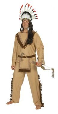 Apachen Indianer - Oberteil+Hose - Kostüm - 2 Teile - Rubie's