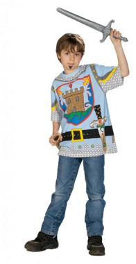 Spieleshirt Ritter - Kinder Kostüm - 1 Teil - Rubie's