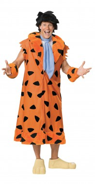 Flintstones - Fred Feuerstein - Kostüm+Perücke - Kostüm - 5 Teile - Rubie's