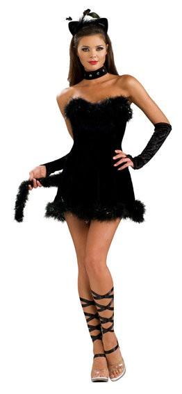 sexy Kätzchen Kostüm