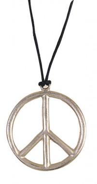 Halskette Peace - Zubehör - 1 Teil - Rubie's