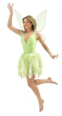 Disney - Tinkerbell - Kleid+Feenstab+Flügel - Kostüm - 3 Teile - Rubie's