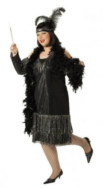 Glamourgirl - Kleid+Armstulpen - Kostüm - 2 Teile - Rubie's