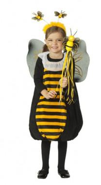 Kleine Biene - Kleid -  Kinder Kostüm -1 Teil -  Rubie's