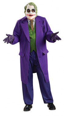 Batman - Joker - Deluxe-Kostüm+Maske - Kostüm - 5 Teile - Rubie's
