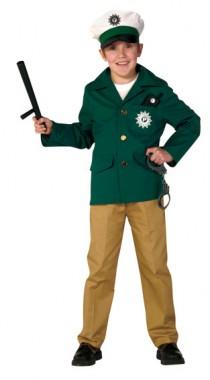 Polizei - Oberteil+Hose - Kinder Kostüm - 2 Teile - Rubie's