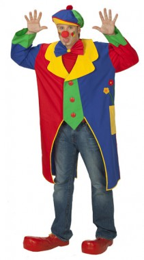 Clownmantel - Kostüm - 1 Teil - Rubie's