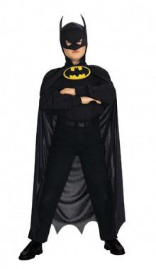 Batman - Umhang+Kapuze - Zubehör - 1 Teil - Rubie's