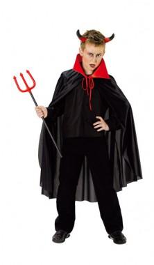 Cape Teufel Halloween - Cape - Kinder Kostüm - 1 Teil - Rubie's