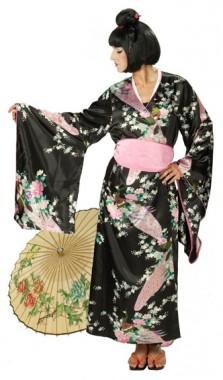 Japanerin - Kimono - Kostüm - 1 Teil - Rubie's