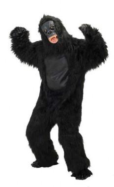 Gorilla - Felloverall+Maske+Hände+Füße - Kostüm - 4 Teile - Rubie's