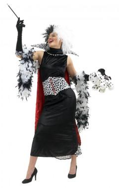 Disney - Cruella de vil - Damenkostüm - Kostüm - 5 Teile - Rubie's