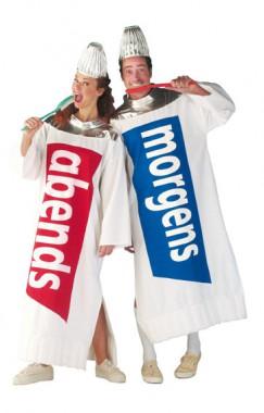 Zahnpasta abends - Robe - Kostüm - 1 Teil - Rubie's