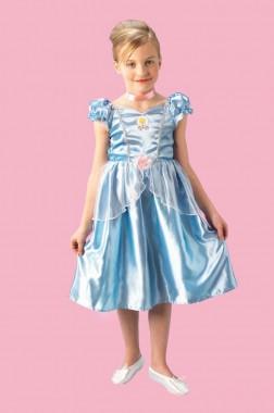 Disney - Aschenputtel - Kleid - Kinder Kostüm - 1 Teil - Rubie's