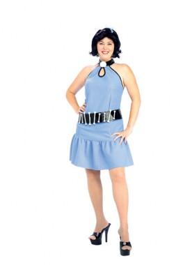 Flintstones - Betty Geröllheimer - Kleid+Perücke - Kostüm - 3 Teile - Rubie's