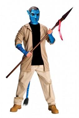 Avatar - Jake Sully - Deluxe Kostüm+Maske - Kostüm - 3 Teile - Rubie's