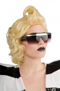 Lady Gaga - Sonnenbrille - Zubehör - 1 Teil - Rubie's