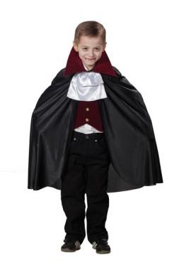 Dracula - Cape+Weste+Jabot - Kinder Kostüm - 3 Teile - Rubie's