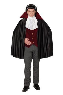 Dracula - Cape+Weste+Jabot - Kostüm - 3 Teile - Rubie's