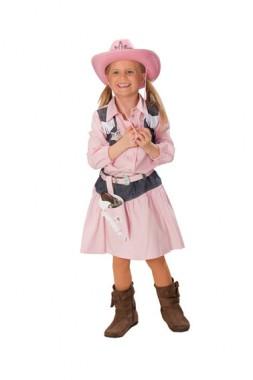 Rosa Cowboygürtel mit Fransen - für Kinder - Zubehör - 1 Teil - Rubie's