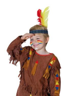 Indianer Stirnband - Zubehör - 1 Teil - Rubie's