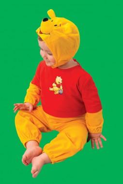 Disney - Winnie Puuh - Overall -  Kinder Kostüm - 1 Teil - Rubie's