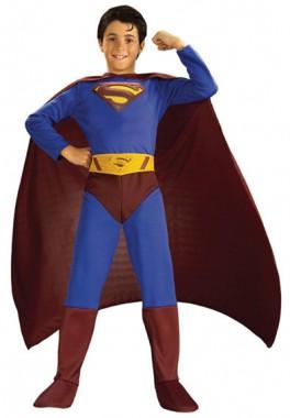 Superman - Kids-Overall+Cape+Gürtel - Kinder Kostüm - 3 Teile - Rubie's