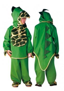 Dino - Oberteil+Hose - Kinder Kostüm - 2 Teile - Rubie's